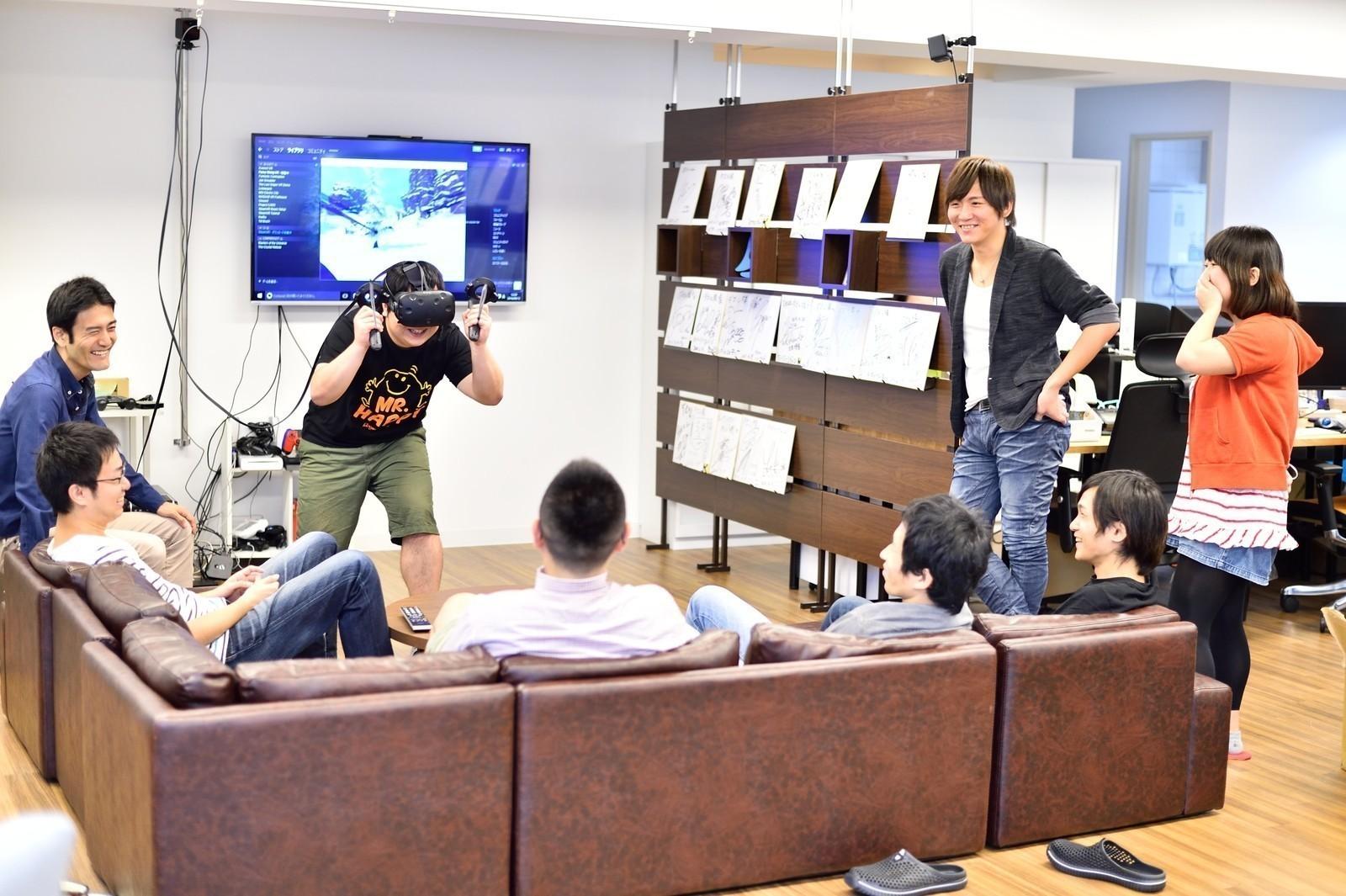 VRサービスやスマートフォンゲームのクライアントエンジニアを募集!