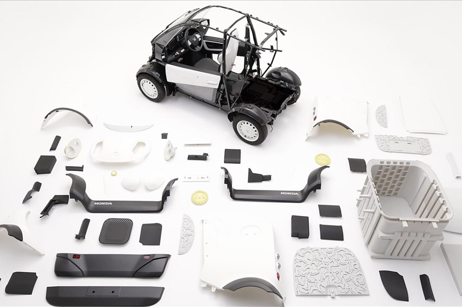 3Dプリント車両
