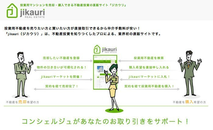 【業務委託可】情報格差をなくして適正な取引を実現、不動産のマッチング&売買プラットフォーム「jikauri」をPHPで開発するメンバー募集!