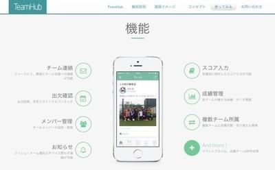 スポーツチーム内の情報をリアルタイムで共有可能、スコア・出欠・個人成績などを包括管理する「TeamHub」の iOS開発担当メンバー募集!