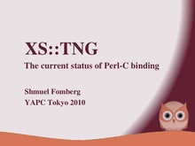 C to perl binding
