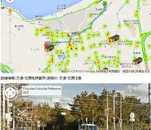 福岡市のオープンデータを使用して交通危険個所マップを作成しました。 | GUNMA GIS GEEK