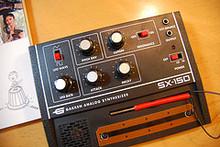 くじら音楽部::BLOG::シンセサイザー・クロニクルの付録シンセSX-150を組み立ててみた