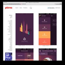 モバイルUIのデザインに役に立つUIパターンギャラリー集17選 - showrtpath - iOSブラウザ開発日記