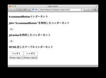 JSF 2.2 でさらに便利になったMarkupを使ってみよう - Katsumi Kokuzawa's Blog