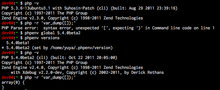 phpenv で複数の PHP 環境を管理する - Born Too Late