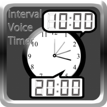 iTunes の App Store で配信中の iPhone、iPod touch、iPad 用 声で時間通知