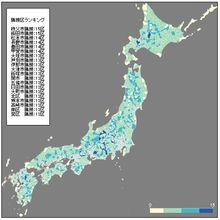 【D3.js】隣接区の数で地図に色塗りをしてみました。 | GUNMA GIS GEEK