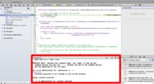 Xcode4.5でLLDBデバッガコマンドを使ってみる - Object for cutie