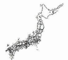 【D3.js】文字で日本地図書いてみた。   GUNMA GIS GEEK