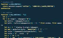 vimのすごい便利なのにあまり使われていない「タブページ」機能