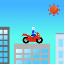 iTunes の App Store で配信中の iPhone、iPod touch、iPad 用 BIKE JUMP!