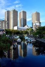 そびえ立つ中央区佃のタワーマンション群 -High Rise Apartments in... - 写真ブログ mae's works