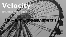 Velocity - Lean, Velocity and Anti-Fragile 「ボトルネックを飼い慣らせ!」