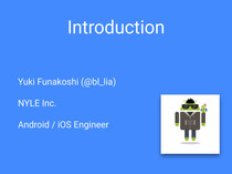 Presentations by Yuki Funakoshi // Speaker Deck