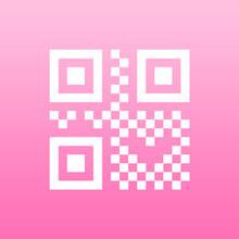 女の子のためのQRコードリーダー with skins -Appliv