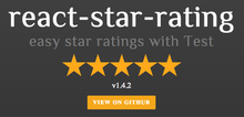 React Bootstrap Star Rating - (rudolph-miller)