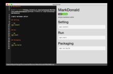 GitHub - ryutoyasugi/MarkDonald: simple markdown editor