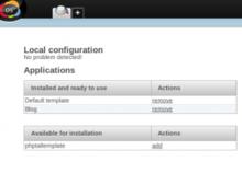Novius OS で PHPTAL を使う
