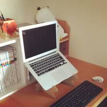 ダンボールで作ったノートパソコンスタンド - どんどこすすむの日記