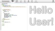 HTML5、CSS3、JavaScriptがリアルタイム編集できる!軽量HTMLエディタ「Liveweave」 | Chrome Life