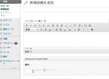 WordPress カスタムフィールドでHTML5スライダー