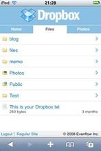 GTD Style Wiki と Dropbox と iPod Touch - fuji70の日記