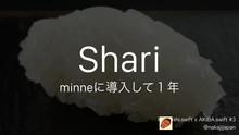 Shari // Speaker Deck
