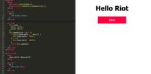 「Riot.js」をオンラインエディタ「Riot live editor」でサクッと書く - LifeGadget(ライフガジェット)