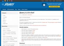 「jQuery 3.2」リリース内容まとめ - LifeGadget(ライフガジェット)