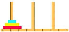 プログラマーは今こそアルゴリズムを書くべき!!2~再帰アルゴリズムでハノイの塔を解く~ - nigoblog