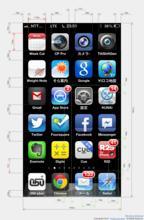iPhoneホーム画面のアイコンとバッジ配置仕様チートシート作った | noriaki blog