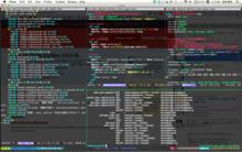 最近の作業環境とか。TMUX on Emacs - flada_auxvの日記