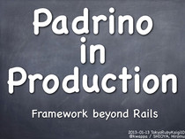 Padrino in Production // Speaker Deck