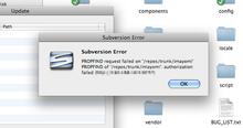 SCPlugin(Mac Finder Subversion)のハマりポイント - IwazerReport
