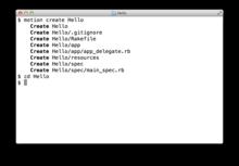 RubyMotion - Ruby for iOS