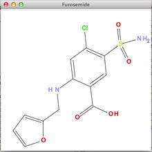 sdfile形式の構造式を表示(CDK、JChemPaint、Swing) - 塩こん部