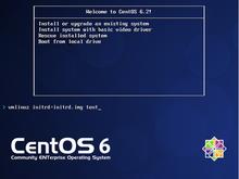 CentOS6.2のインストール(テキストモード)