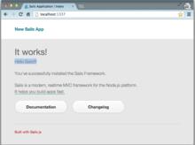 Node.js MVCフレームワーク Sails.js が良さげなので少し試してみた | Re* Programming
