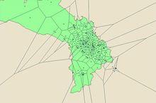 【D3.js】地図上にボロノイ図を描く | GUNMA GIS GEEK