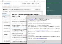 Mac OSX EvernoteでMarkdownを書いてMarkedでプレビューする - IwazerReport