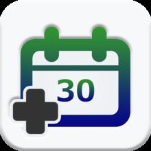 【iPhoneアプリ】速Calendar