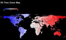 【D3.js】タイムゾーンマップを作成しました。   GUNMA GIS GEEK