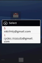 GmailUnreadCounter Widget 2