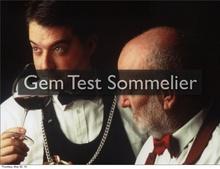 Gem Test Sommelier