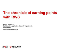 The chronicle of earning points with RWS // Speaker Deck