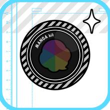 iTunes App Store で見つかる iPhone、iPad、iPod touch 対応 MANGAkit-漫画風写真加工アプリ